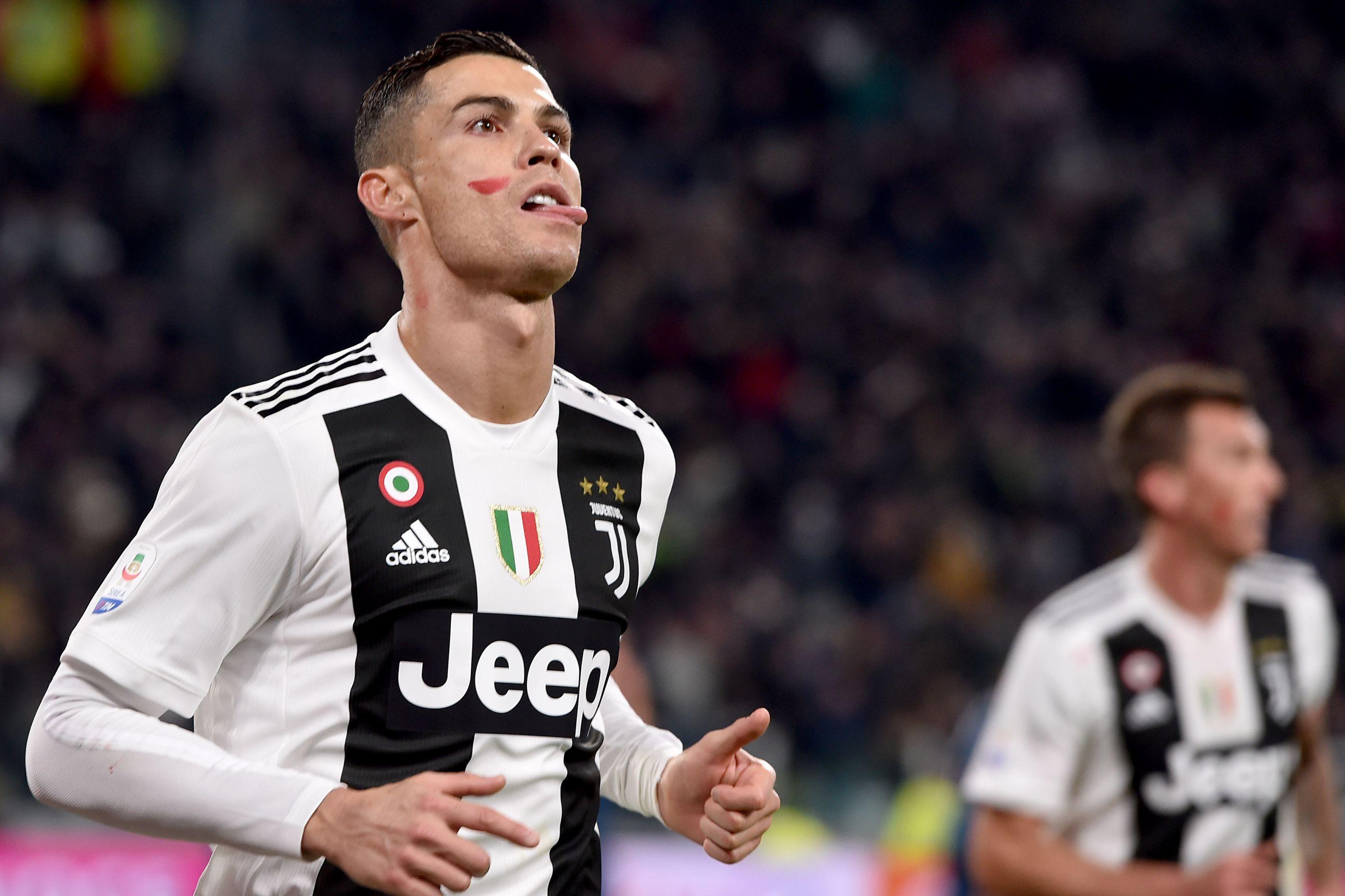 O pormenor no rosto de CR7 que saltou à vista no jogo da Juventus