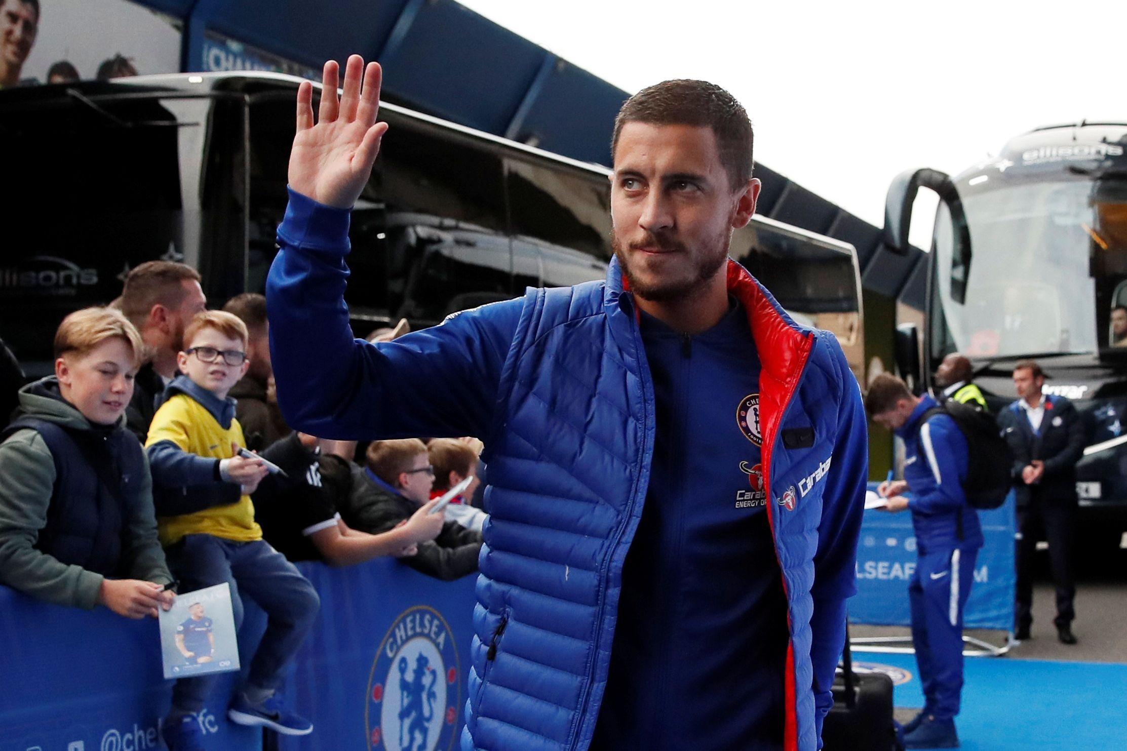 Real Madrid viaja até Londres para negociar Eden Hazard