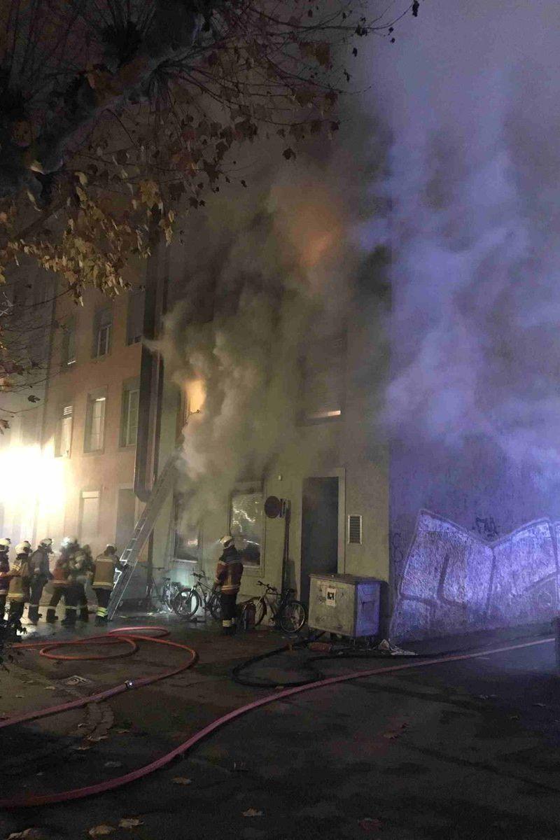 Incêndio em prédio na Suíça provoca seis mortos e vários feridos