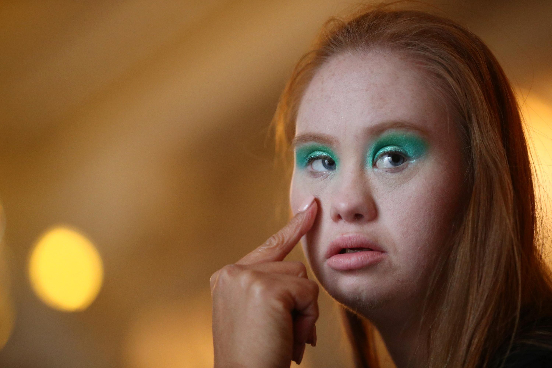 Madeline, a primeira modelo do mundo com Síndrome de Down