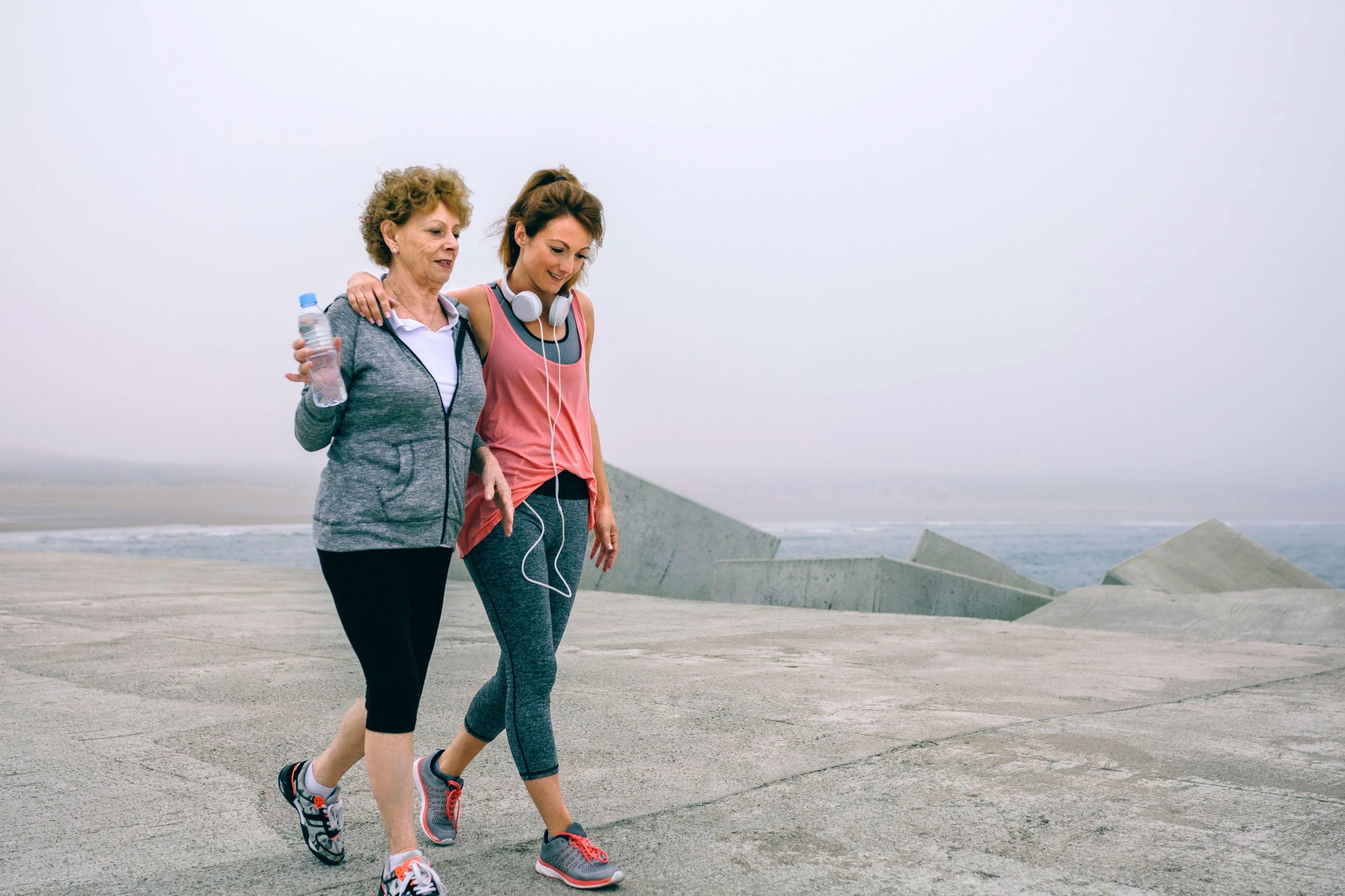 Para perder gordura abdominal através da caminhada, há que fazer isto