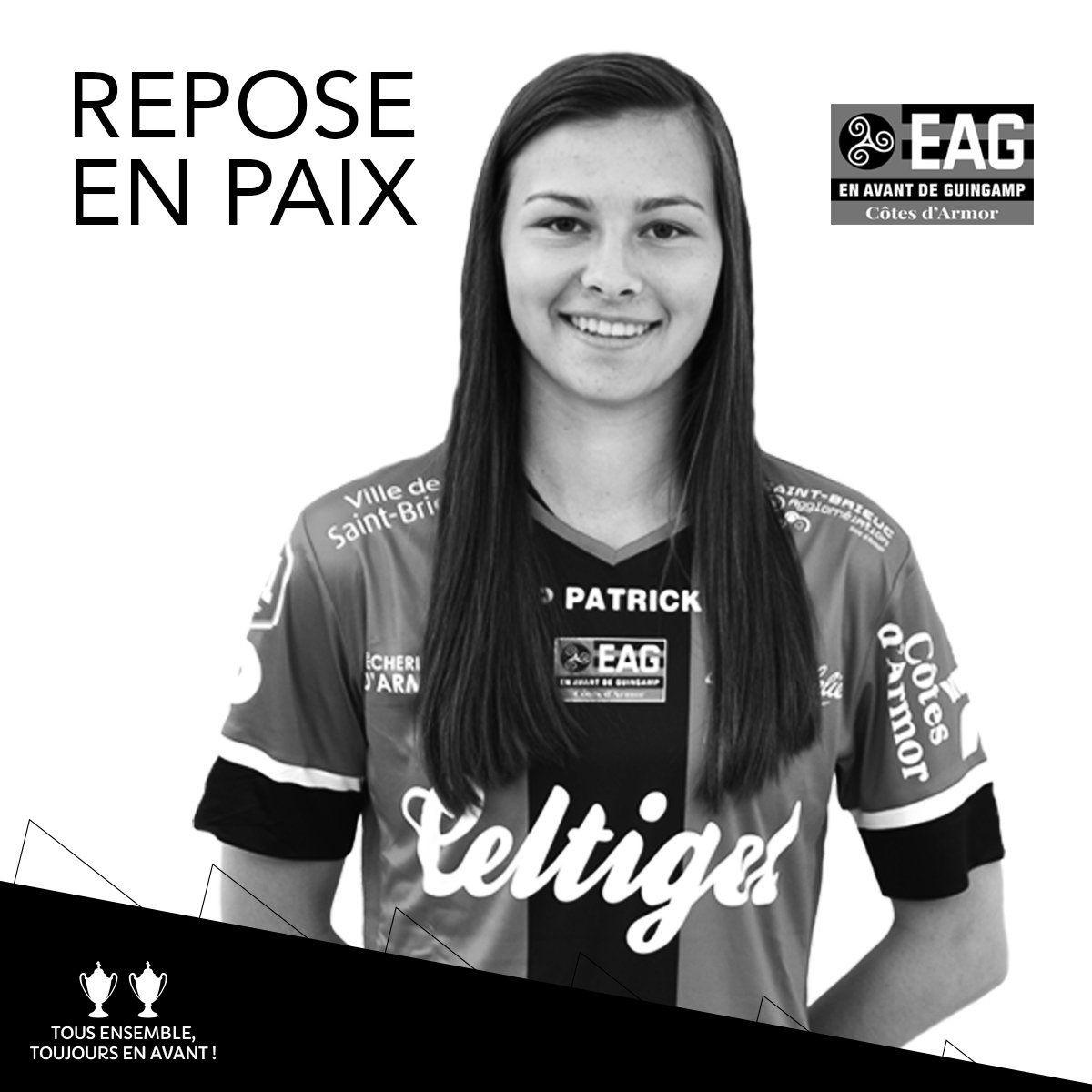 Jogadora de futebol do Guingamp morre aos 20 anos