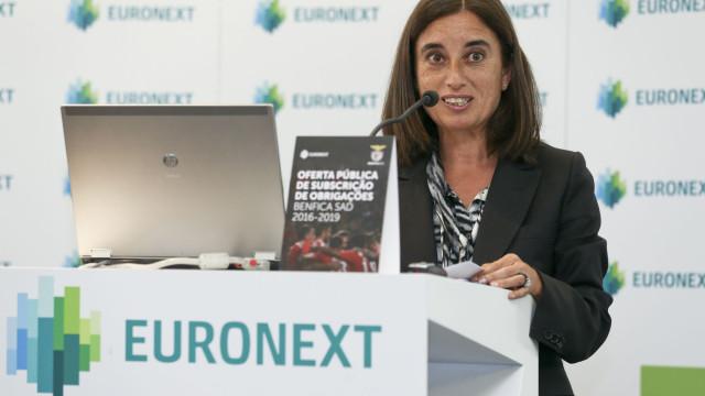 Isabel Ucha é a nova presidente da Bolsa de Lisboa