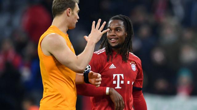 Bayern definiu futuro de Renato Sanches para a próxima época