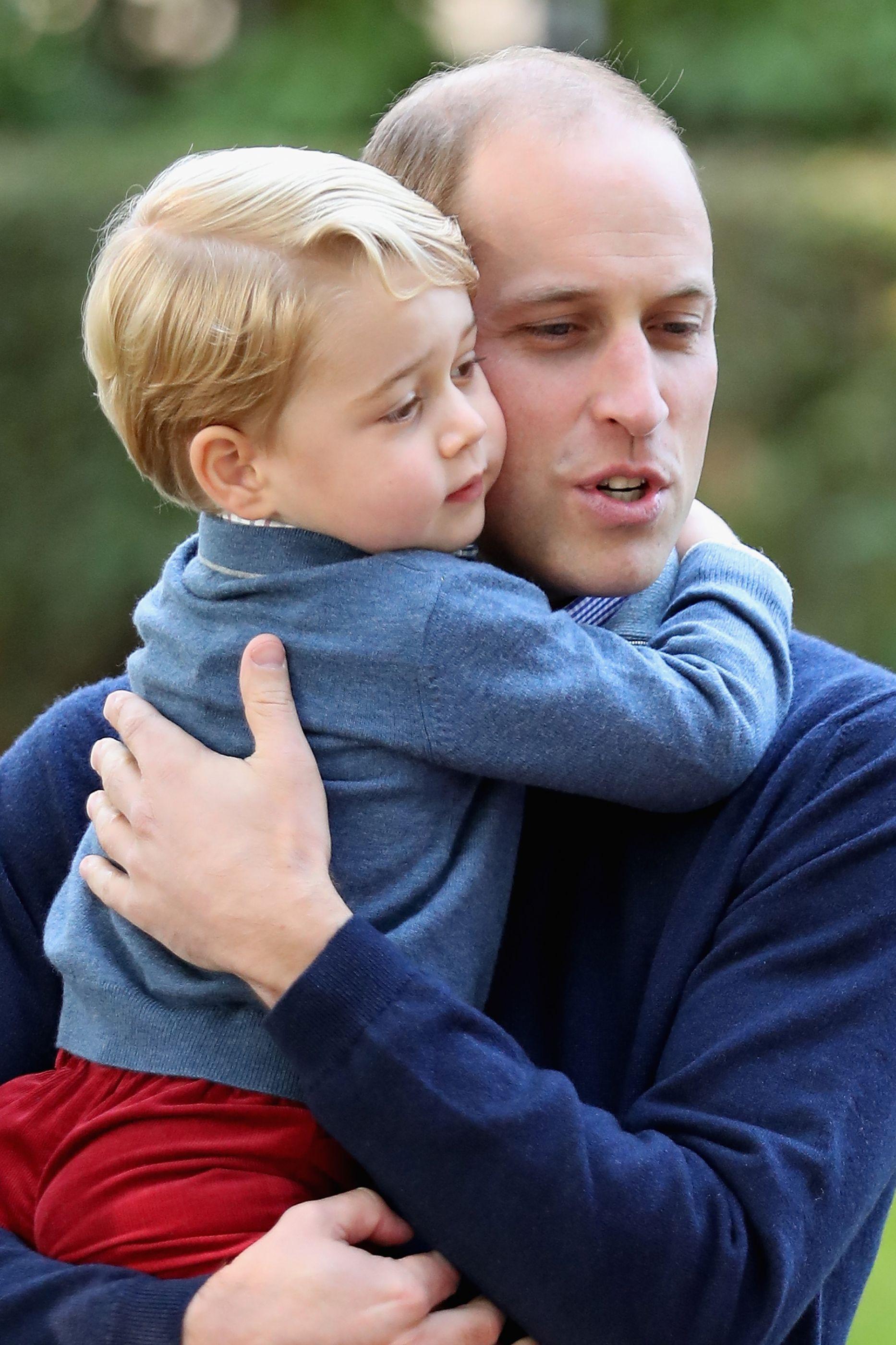 """Príncipe William e os medos da paternidade: """"Eles são tão frágeis"""""""