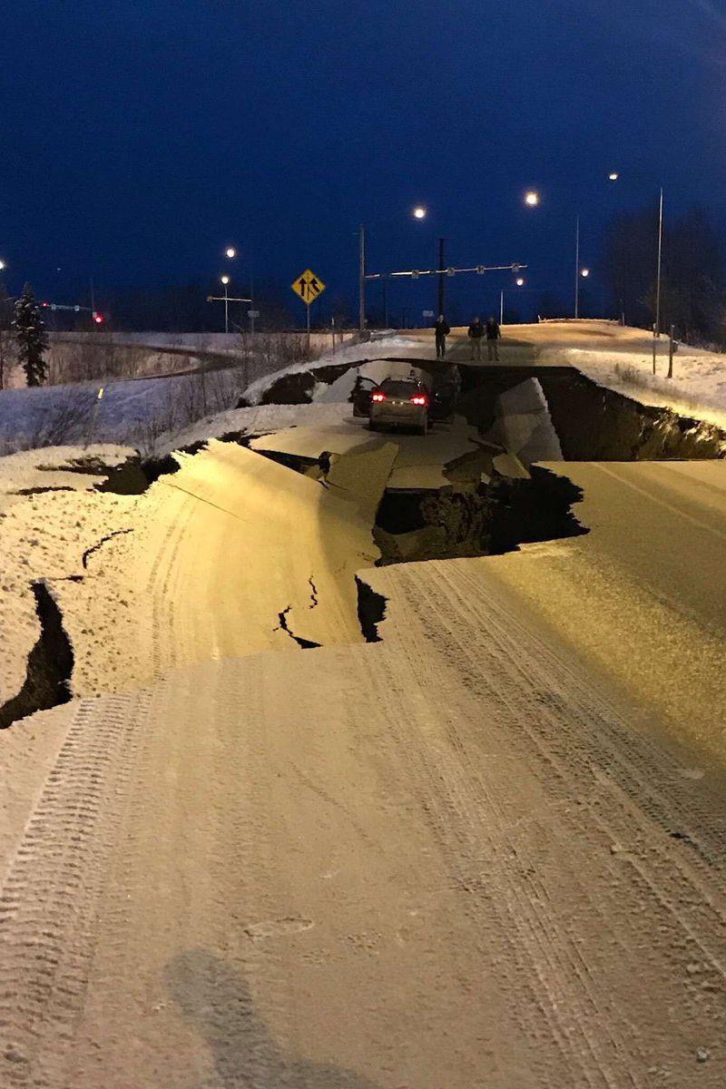 Sismo de 6.6 na escala de Richter sentido no Alasca