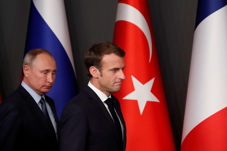 Putin fez desenho a Macron para justificar captura de navios ucranianos