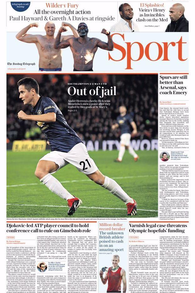 """Lá fora: Mourinho """"fora da cadeia"""" e CR7 numa Juve... """"canibal"""""""