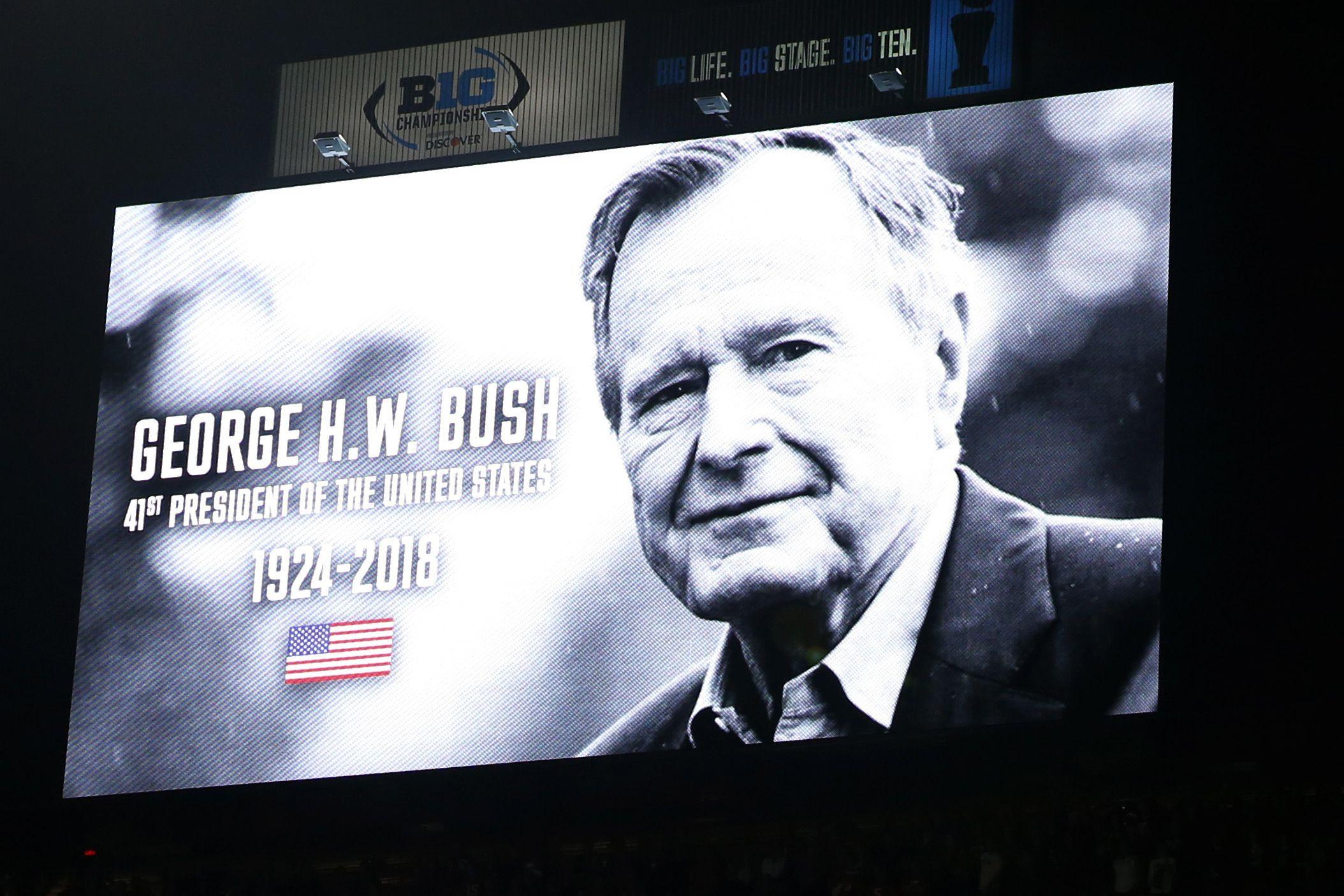"""""""É para o céu que quero ir"""". As últimas palavras de Bush"""