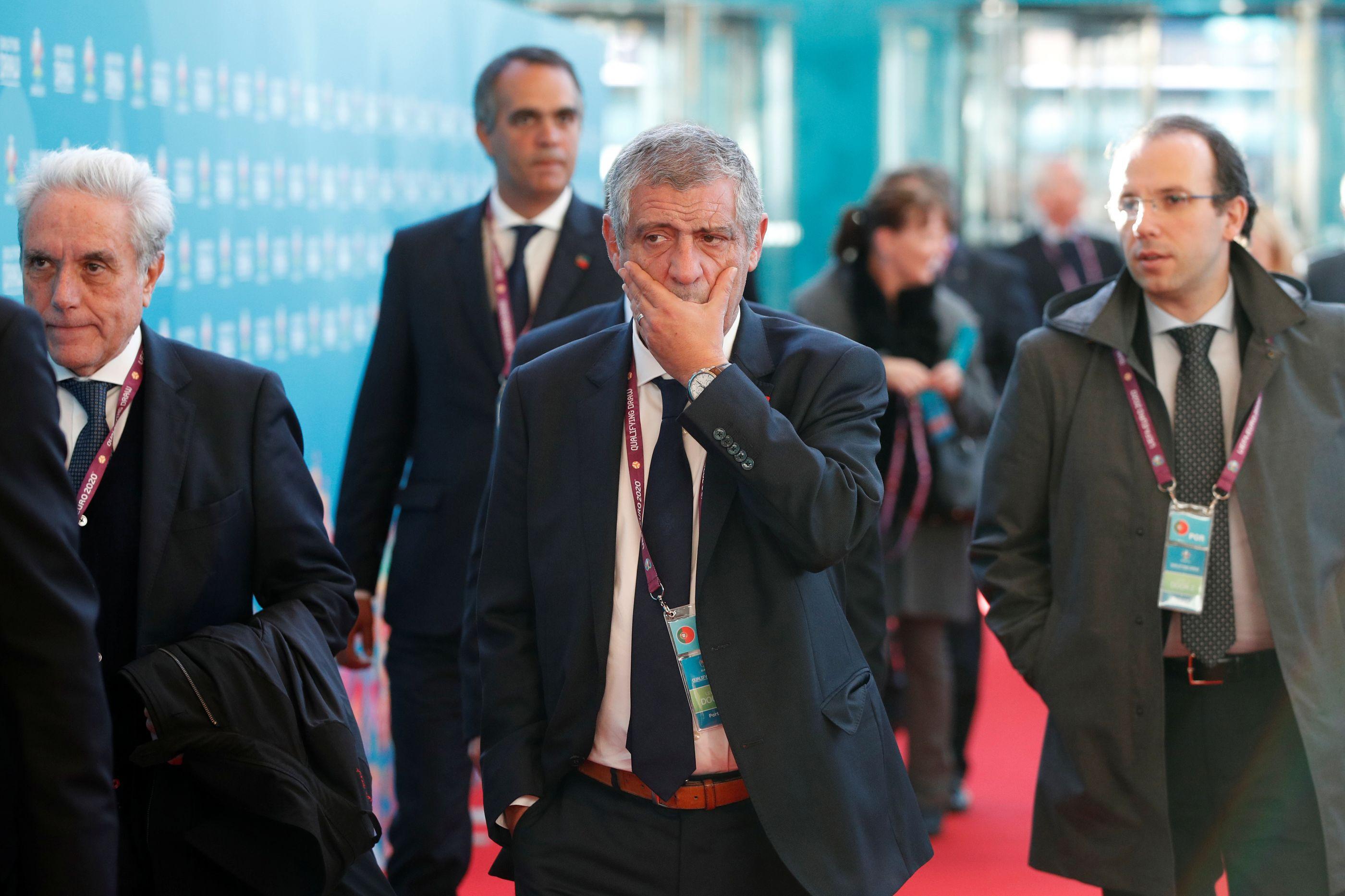 Fernando Santos e a decisão de ser treinador no Estrela da Amadora