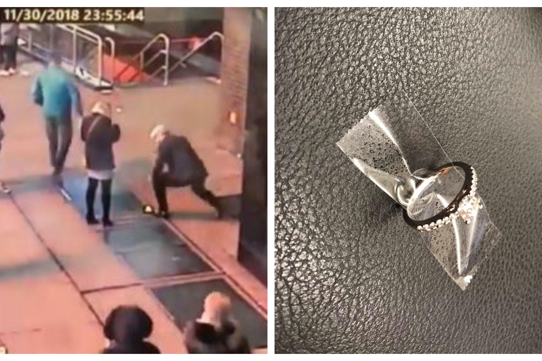 Pediu namorada em casamento, mas anel caiu no esgoto. Polícia quer ajudar