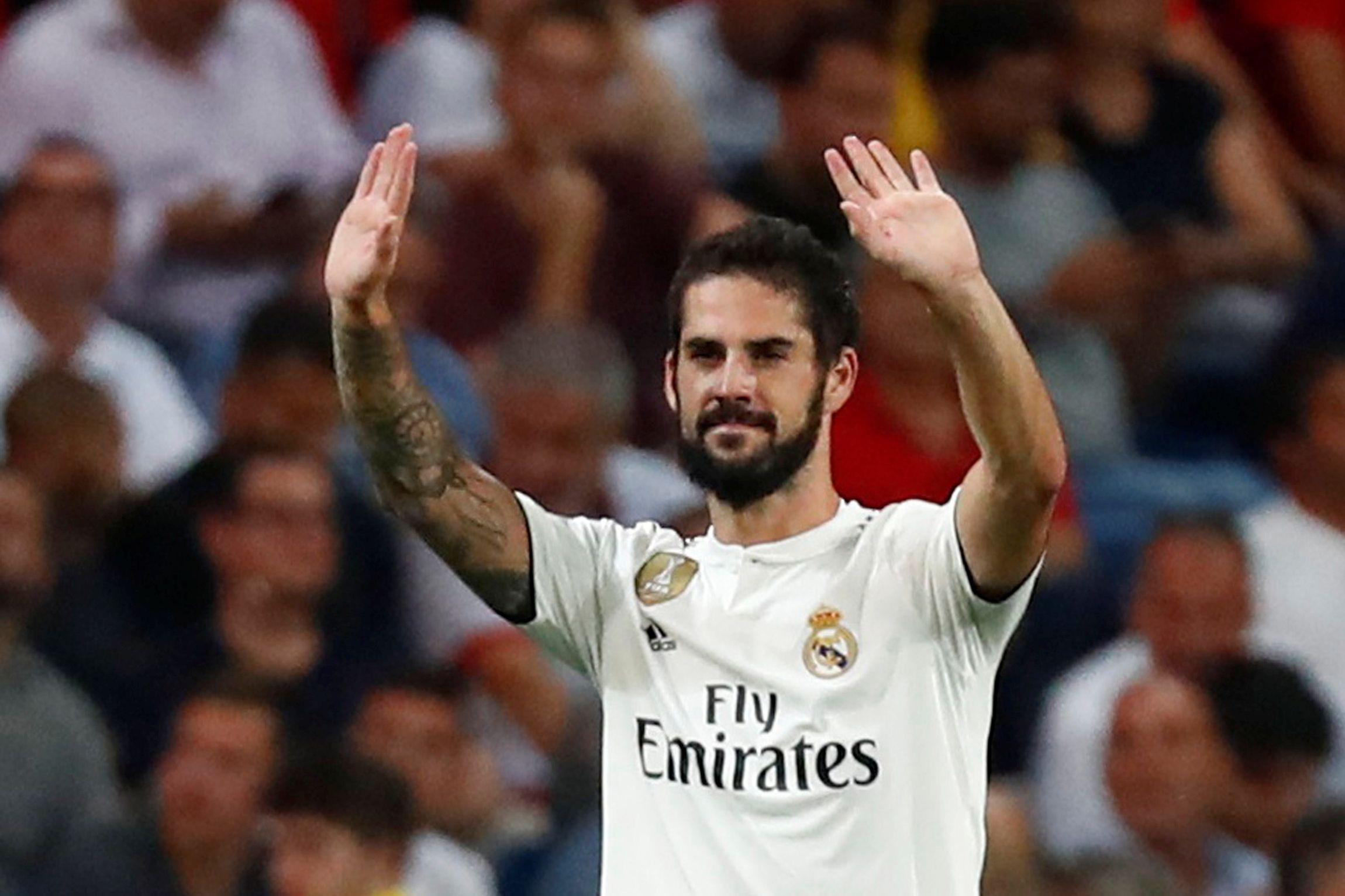 Real Madrid abre processo disciplinar a Isco