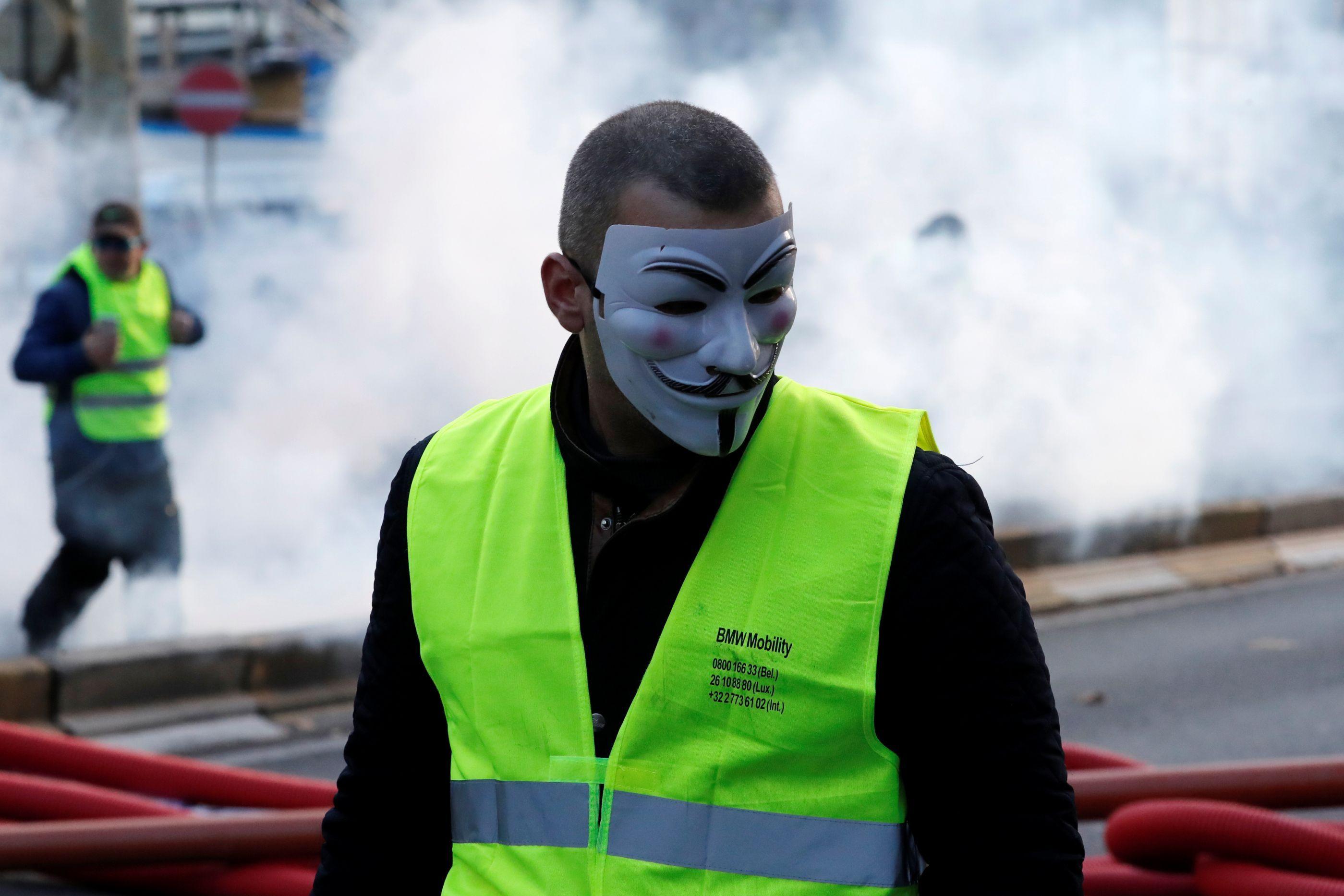 """""""Este protesto é por causa da falta de respeito pelo dinheiro do povo"""""""