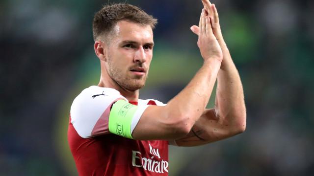 Juventus oficializa a contratação de Ramsey