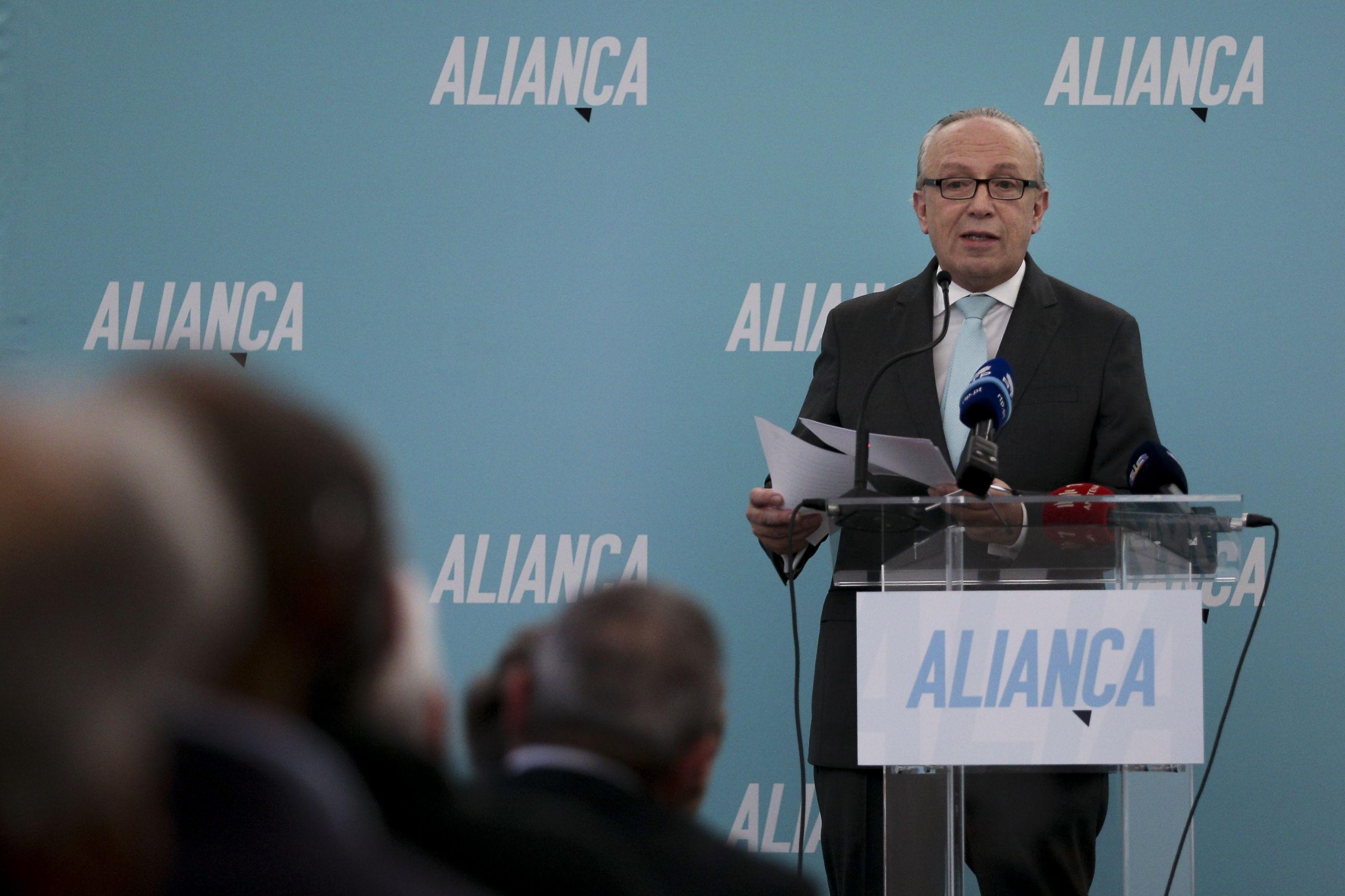 Arranca hoje o 1.º Congresso da Aliança para escolher direção do partido