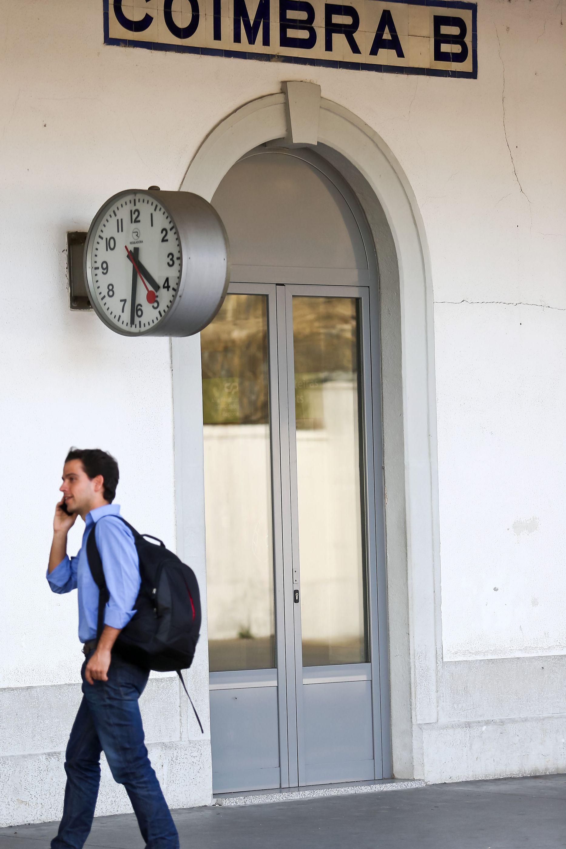 Obra da estação de Coimbra-B avança a par do terminal de 'Metrobus'