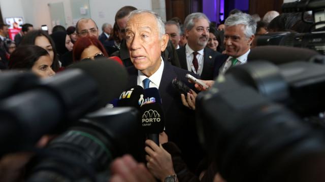 Marcelo não comenta posições partidárias sobre fim das PPP na saúde