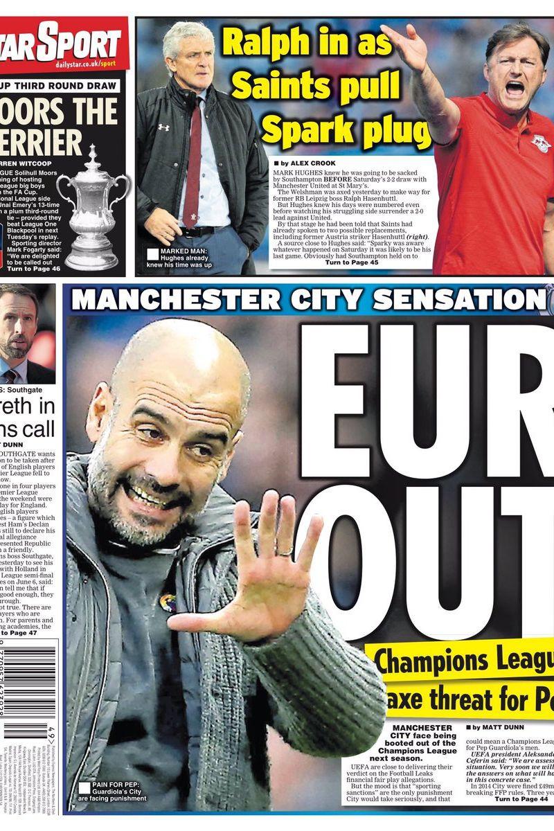 Lá fora: A Bola de Ouro e a nova polémica do Manchester City