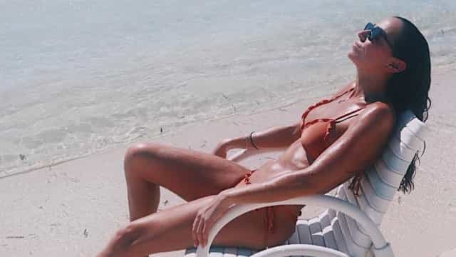 Vanessa Martins desfruta de uns dias de descanso nas Filipinas