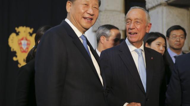 """Relações económicas entre Portugal e China """"vantajosas"""" são bem vindas"""