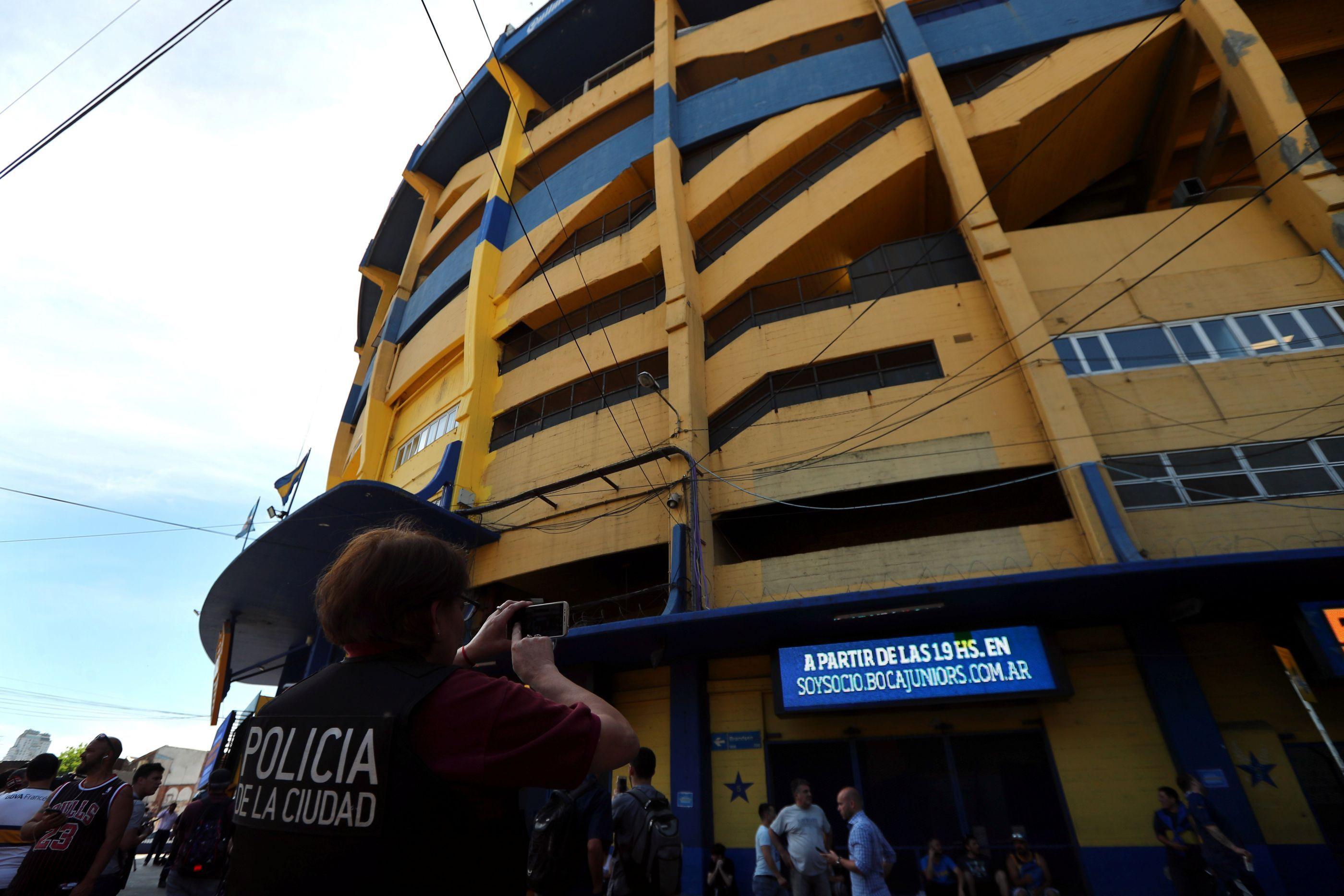 Ameaça de bomba no estádio do Boca Juniors