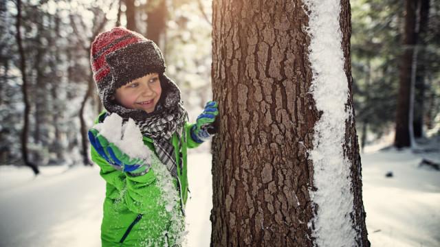 Rapaz convenceu adultos a terminar proibição de lutas de bolas de neve