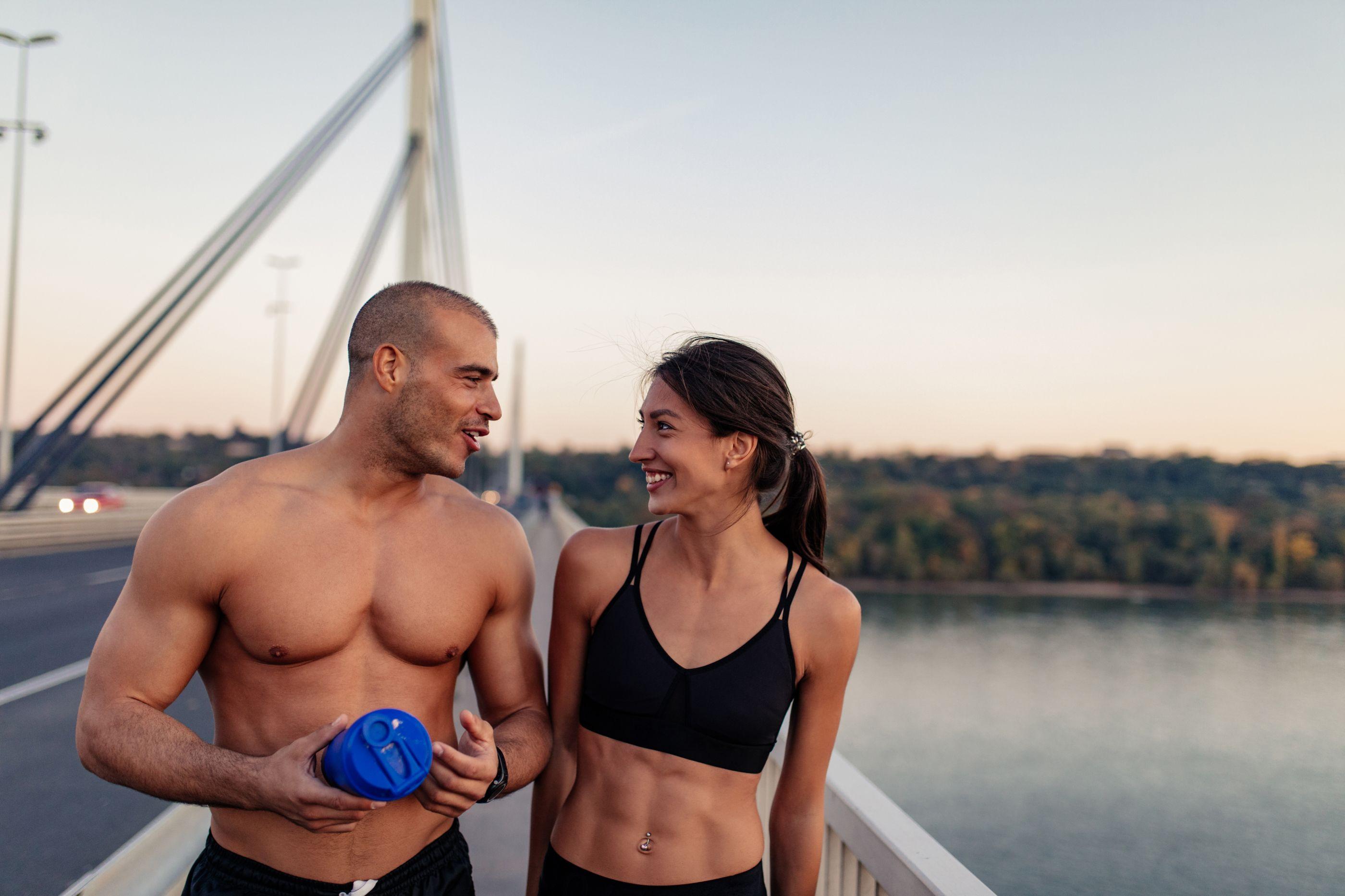 Perca peso e ganhe músculo com este suplemento 90% à base de proteína