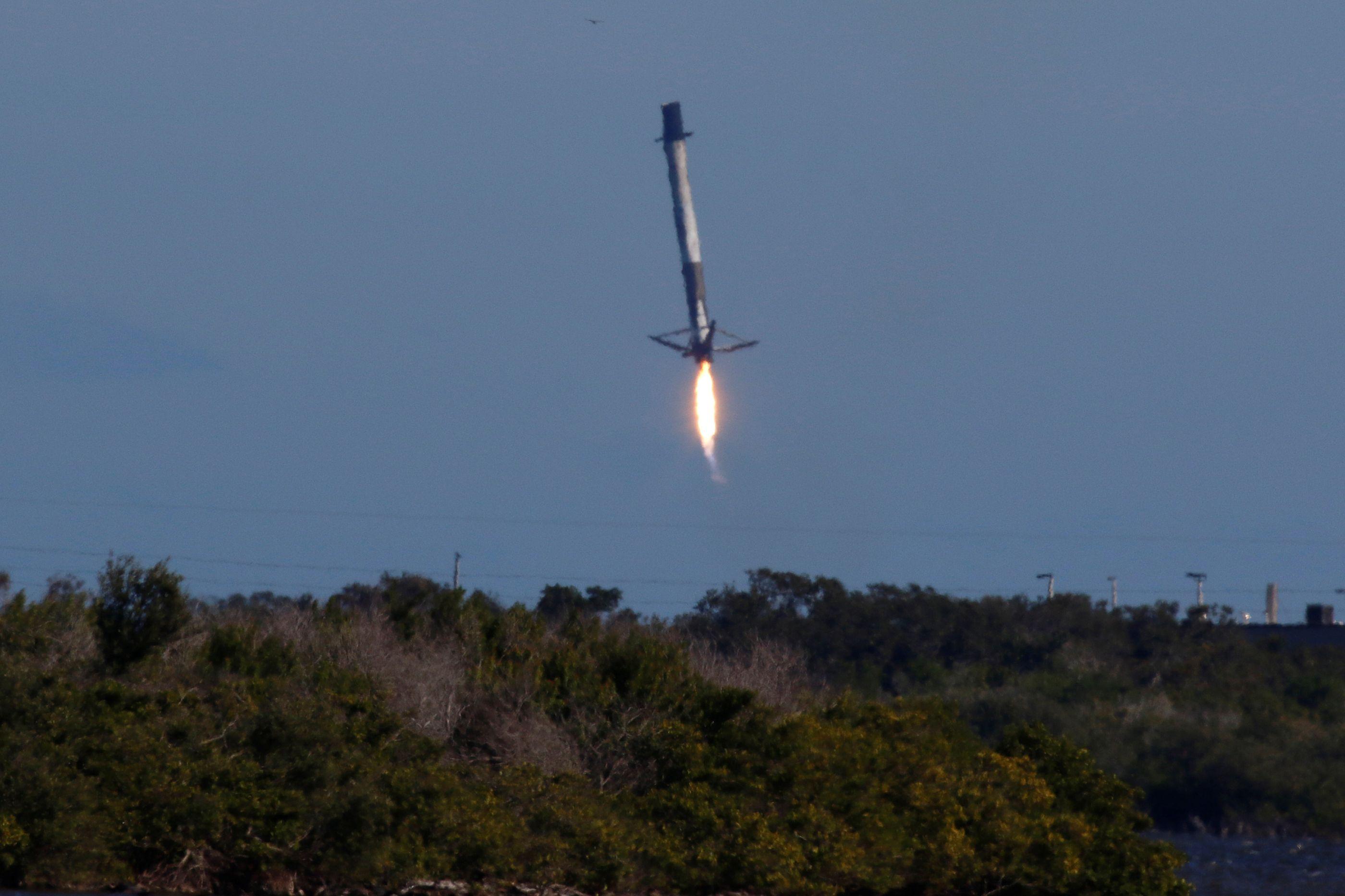 Foguetão da SpaceX falhou aterragem. Veja o vídeo