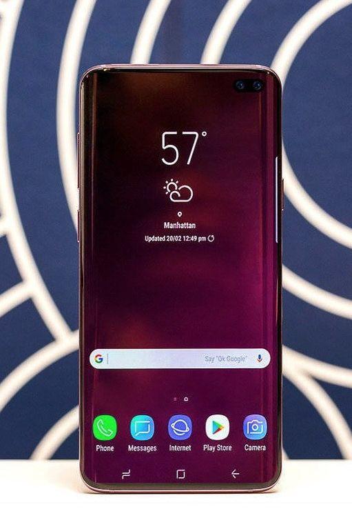 Novas imagens dão pista para ecrã do Galaxy S10