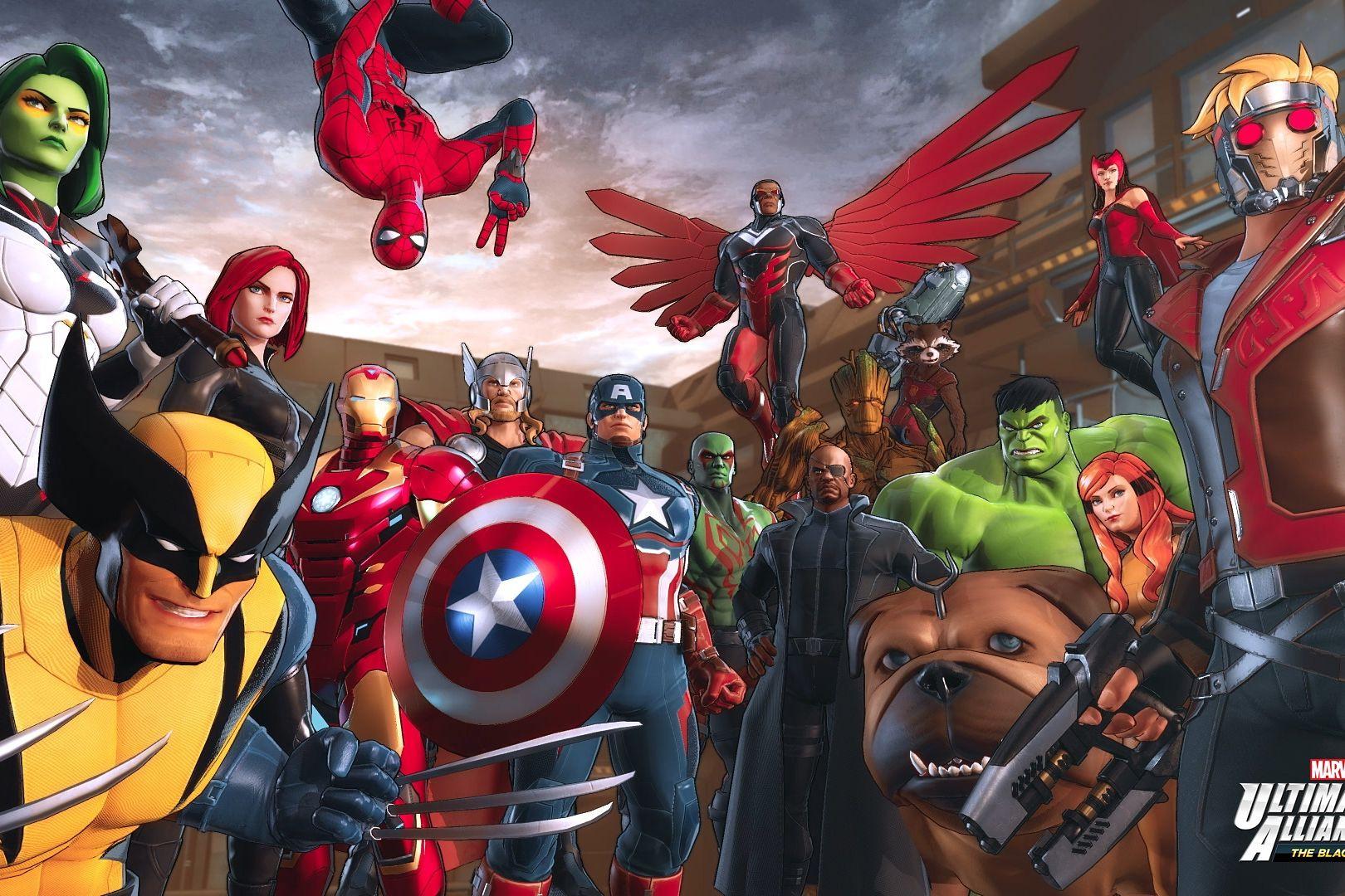 Super-heróis da Marvel estão a caminho da Switch