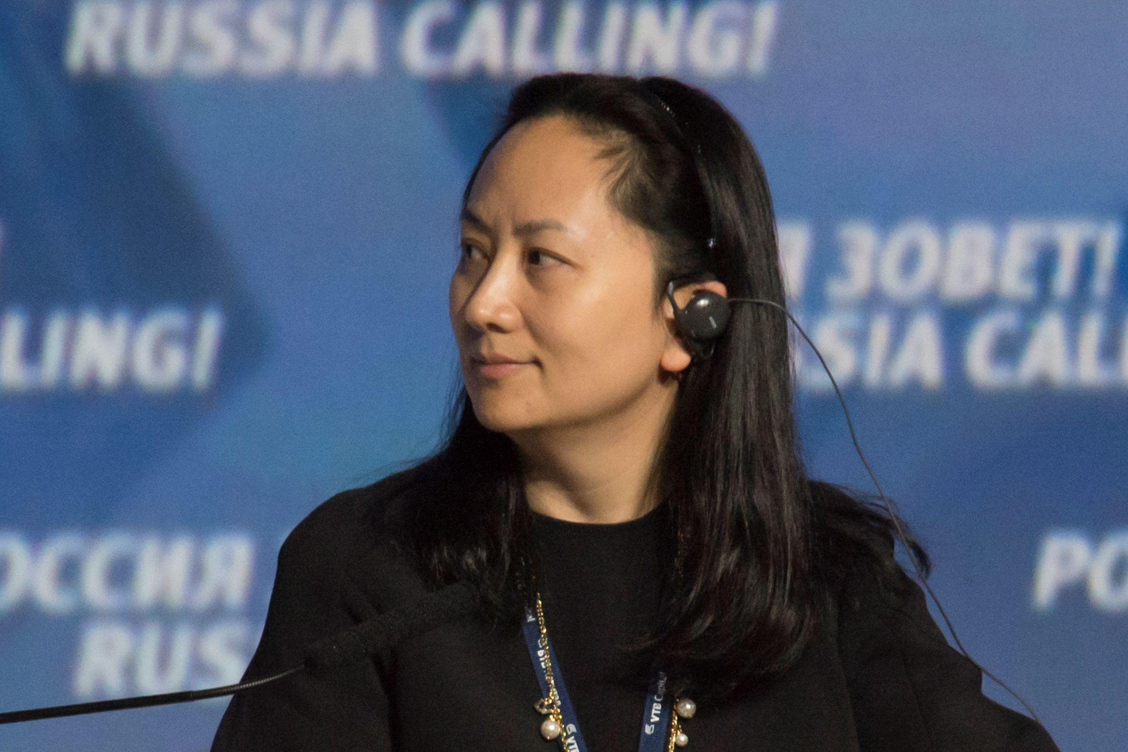 Diretora da Huawei acusada de fraude saiu em liberdade condicional