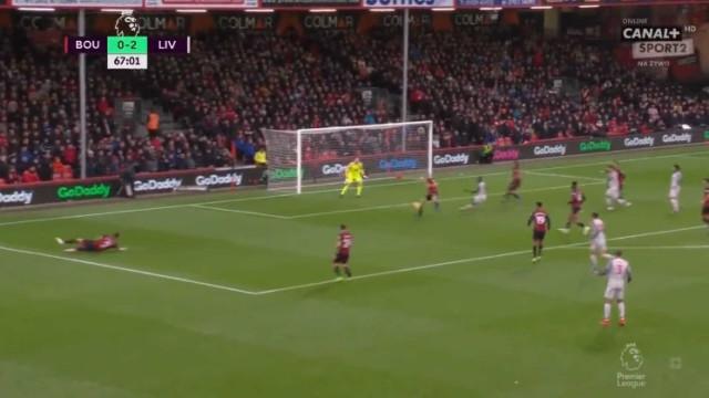 Cook sentenciou o Bournemouth-Liverpool com um dos auto-golos do ano