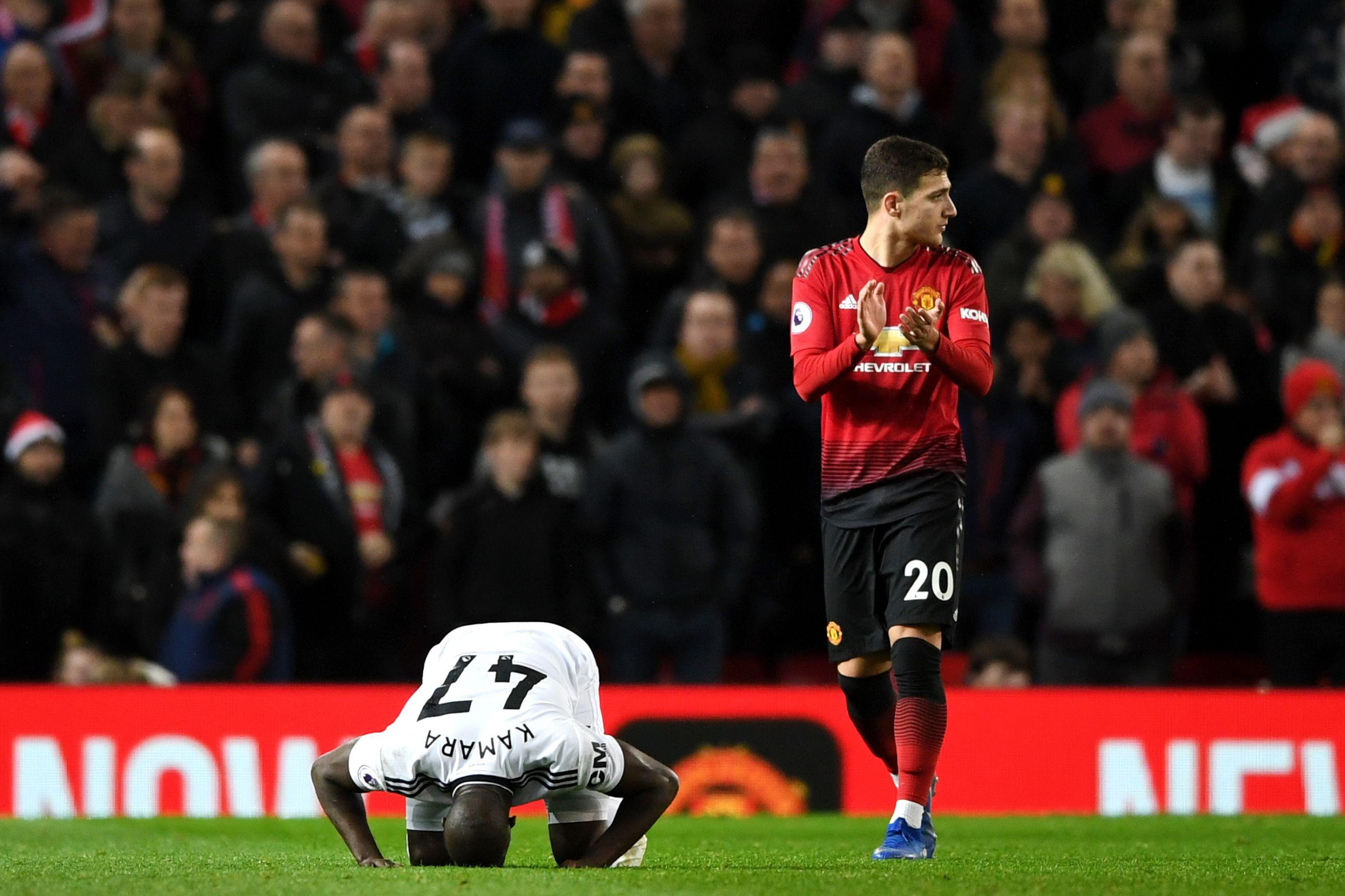 Dalot volta a brilhar e deixa adeptos do Manchester United 'loucos'