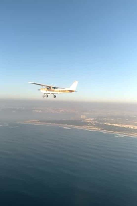 Força Aérea presta assistência a avião perdido no Alentejo
