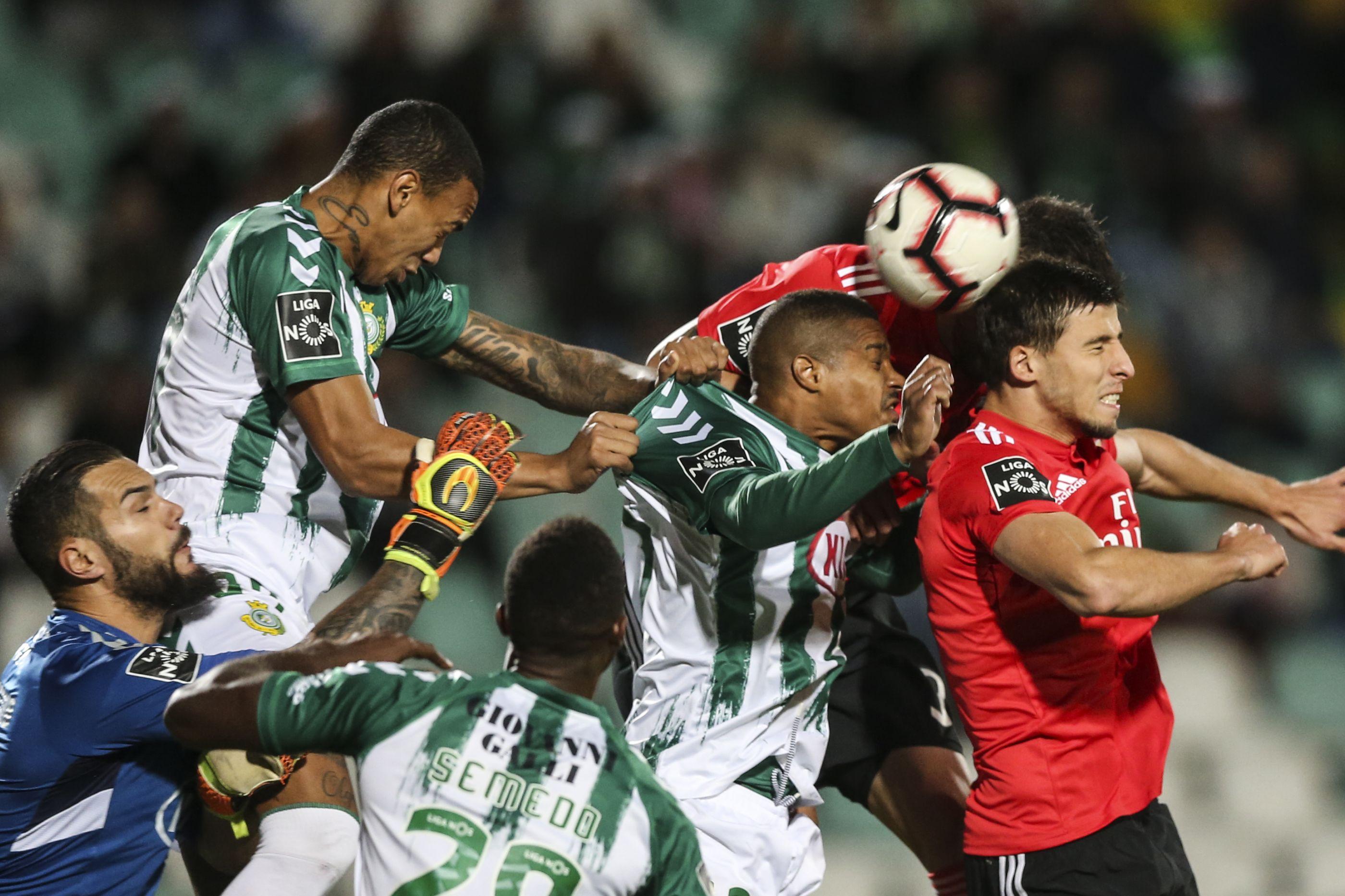 [0-1] V. Setúbal-Benfica: Intervalo no Bonfim