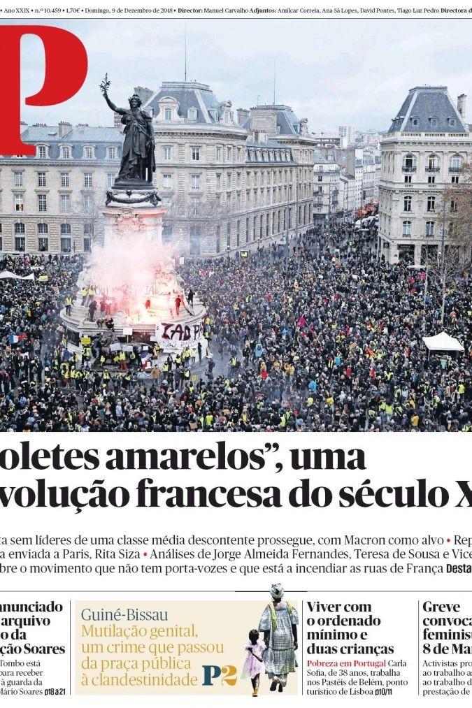 """Hoje é notícia: Uma revolução francesa; """"Atirei o pau ao gato?"""""""