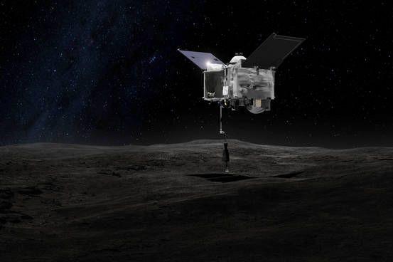 Sonda da NASA descobre água no asteroide Bennu