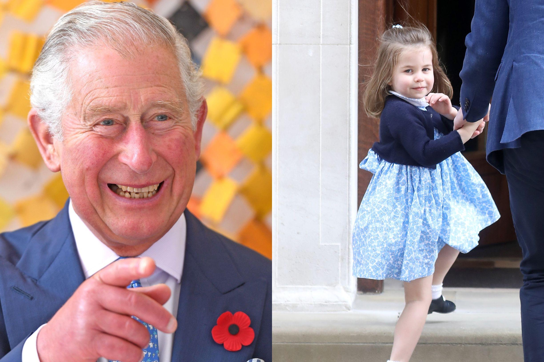 Príncipe Carlos partilha o mesmo 'hobby' que a neta, Charlotte