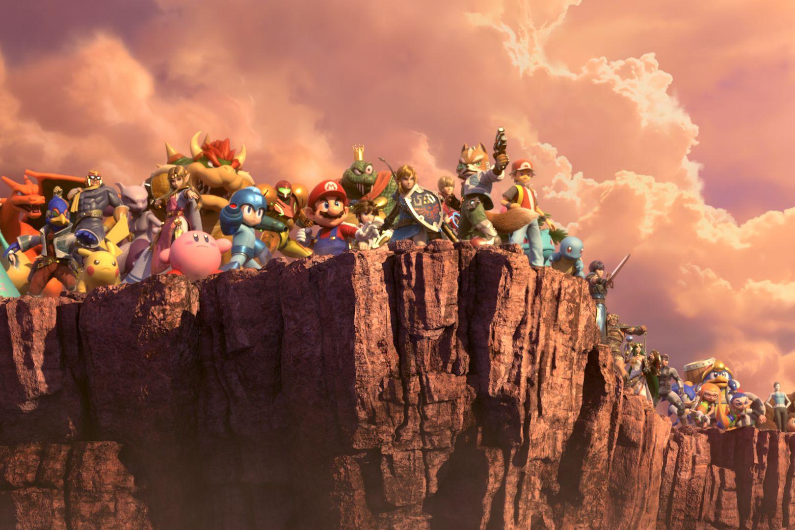 O último 'Super Smash Bros.' quebrou recorde da Nintendo