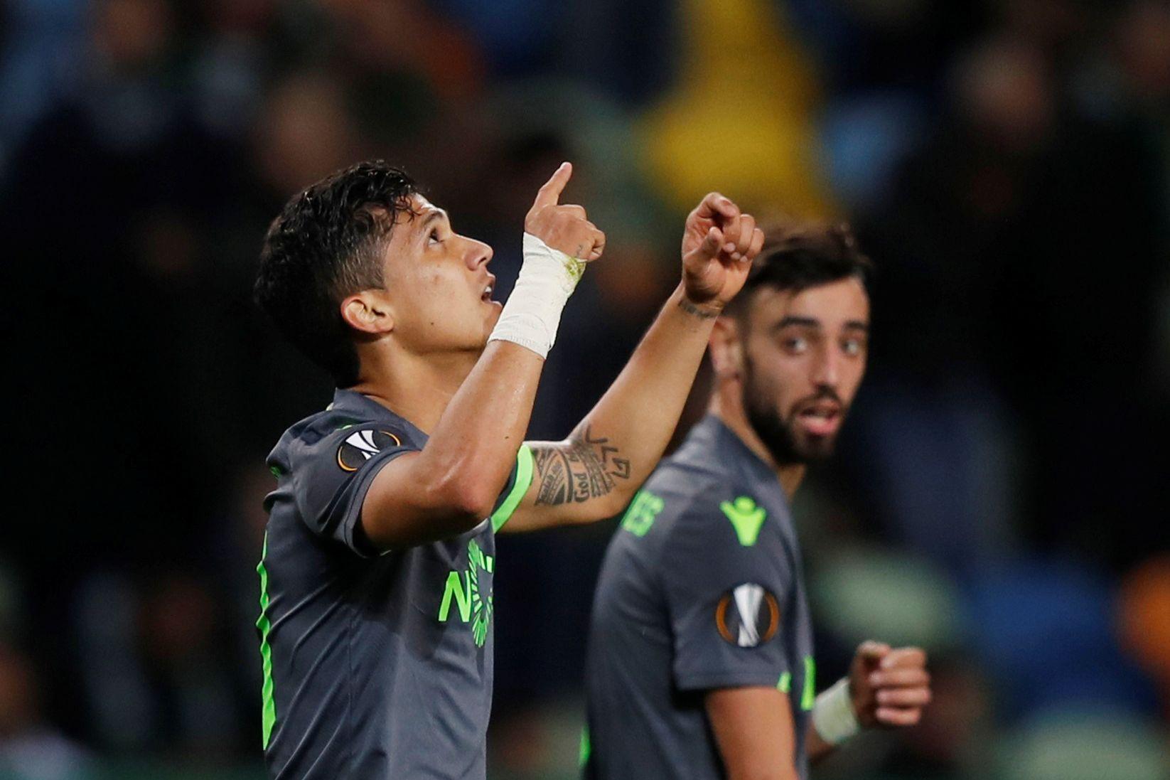 """Montero oficializa adeus ao Sporting: """"Serei para sempre leão"""""""