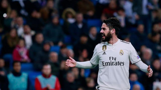 Isco esclarece nova polémica protagonizada no Real Madrid
