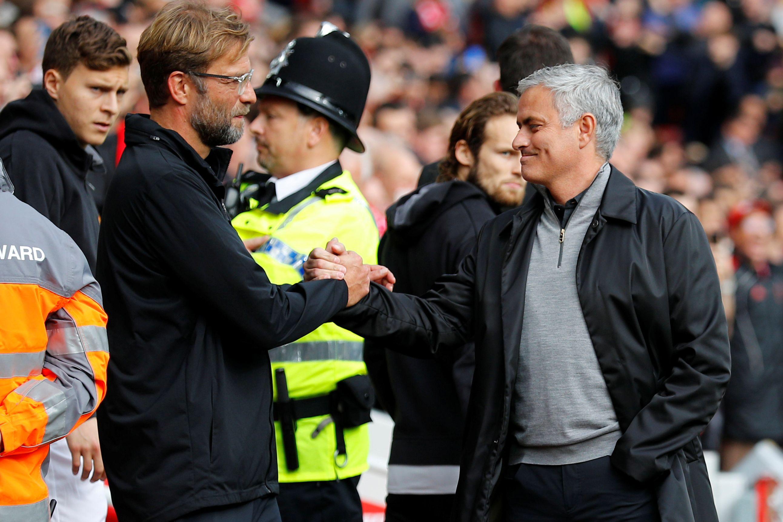 """Mourinho 'pica' Klopp: """"Dizer só por dizer não é muito inteligente"""""""