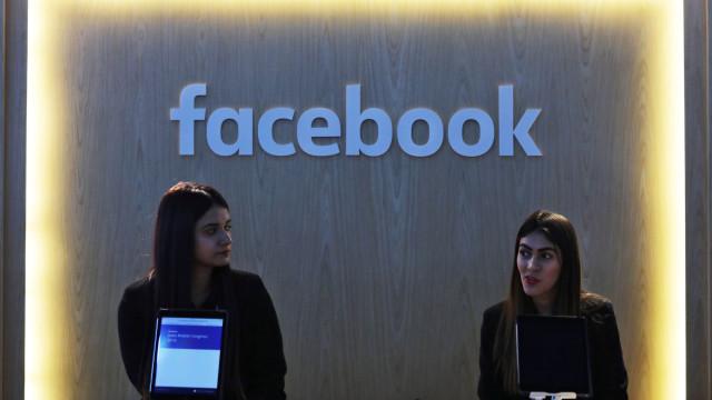 Facebook recolheu contactos de e-mail de 1,5 milhões de utilizadores
