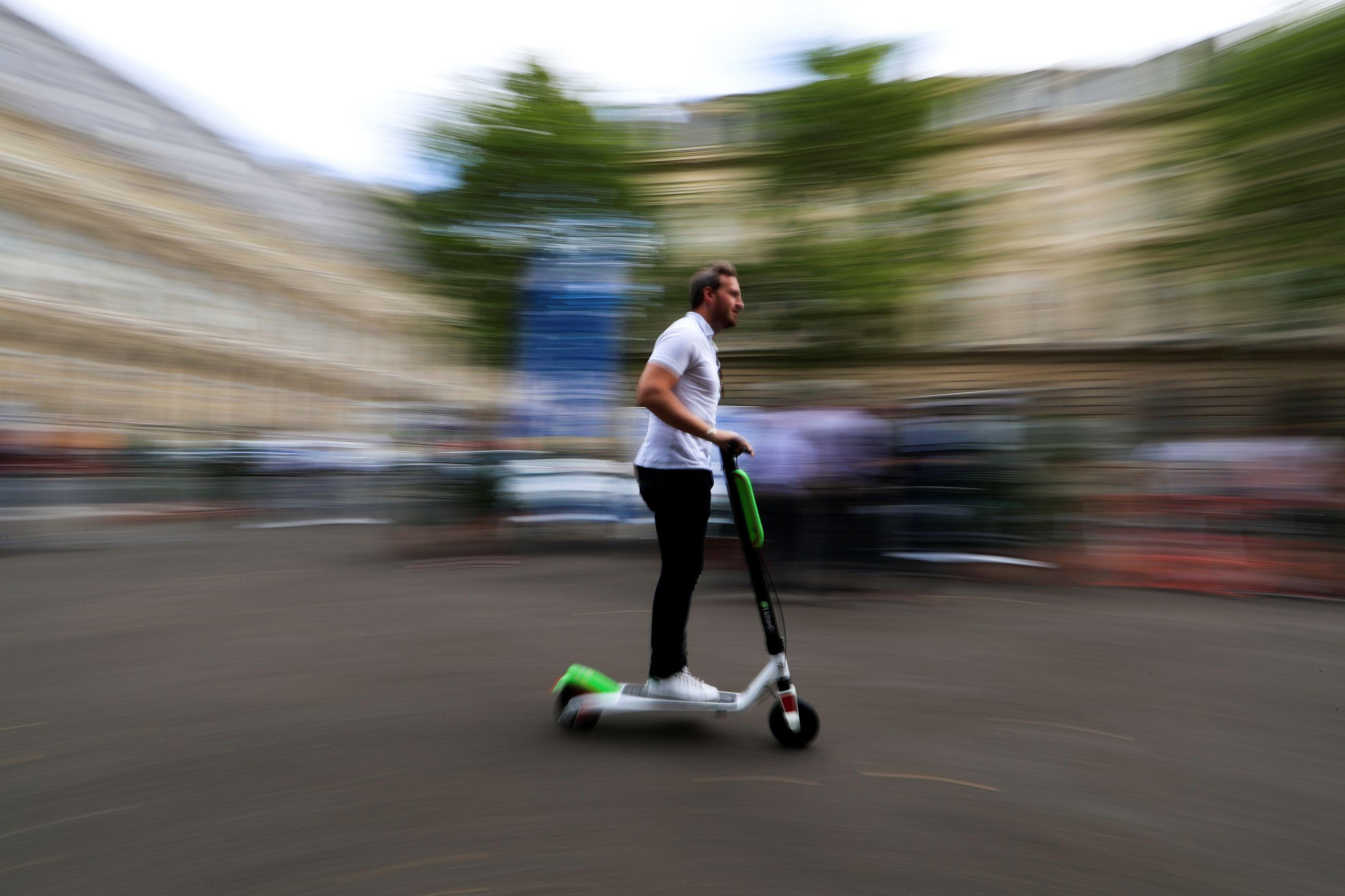 Relatório de acidentes com scooters elétricas não é animador