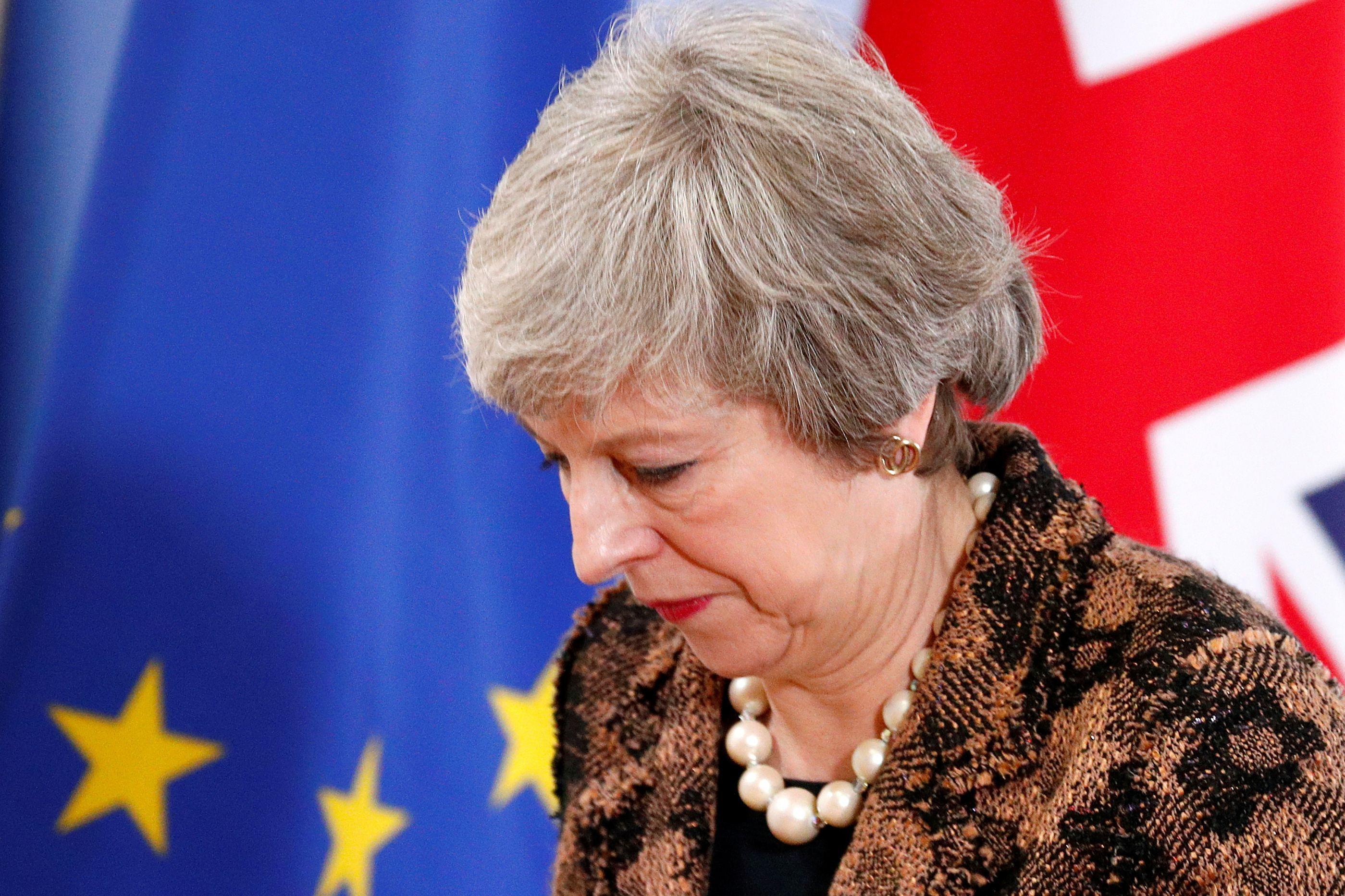 Theresa May apresenta hoje Plano B no parlamento britânico