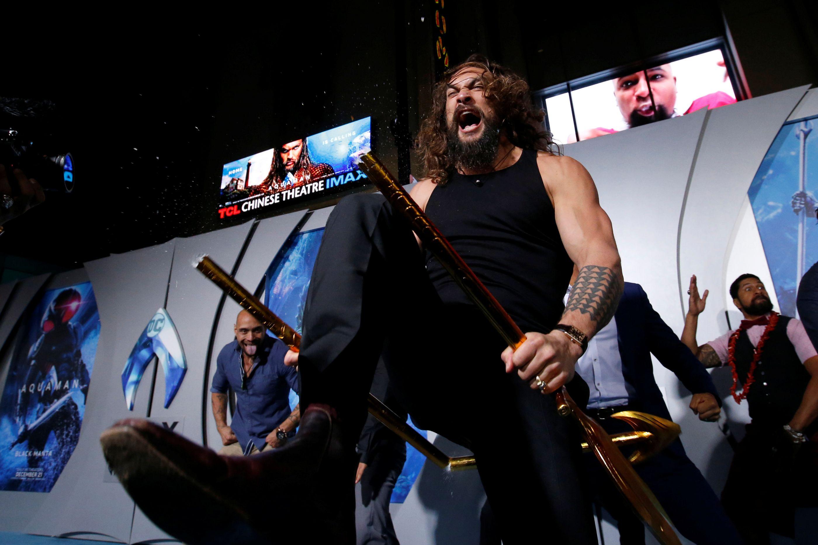 'Aquaman' chegou e mergulhou logo na liderança do box-office