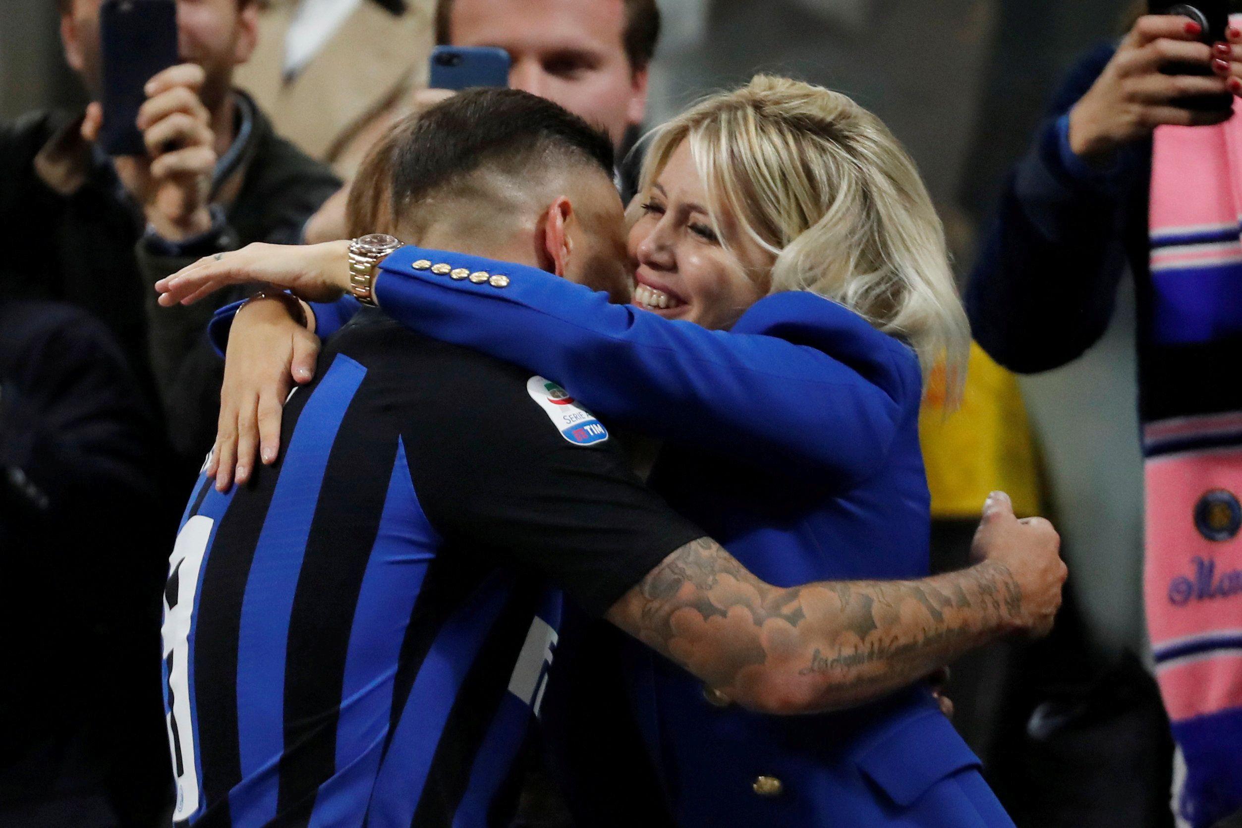 Divórcio entre Inter e Icardi à vista. Carro da mulher do atleta atacado