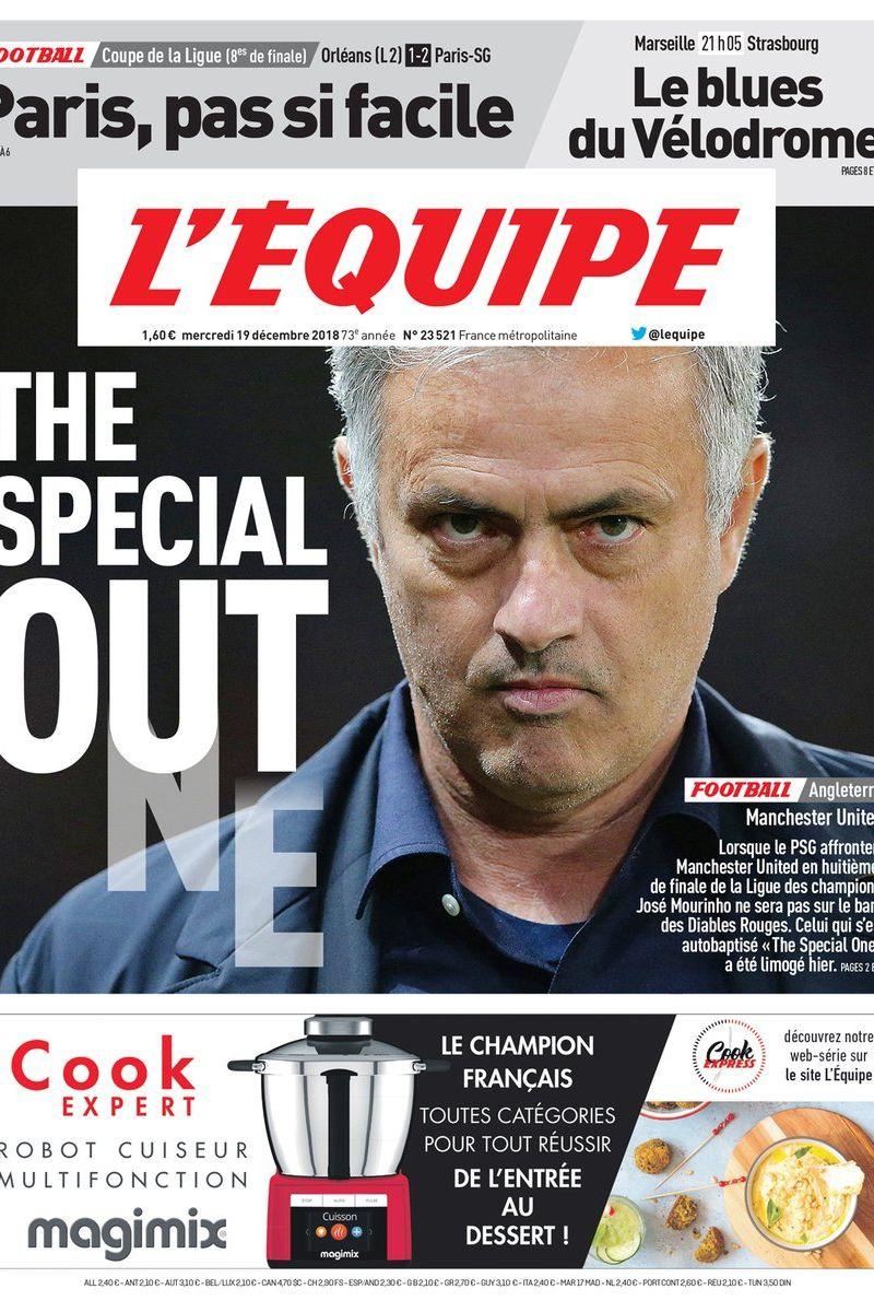 Imprensa internacional: O adeus de Mourinho e a coleção de Messi