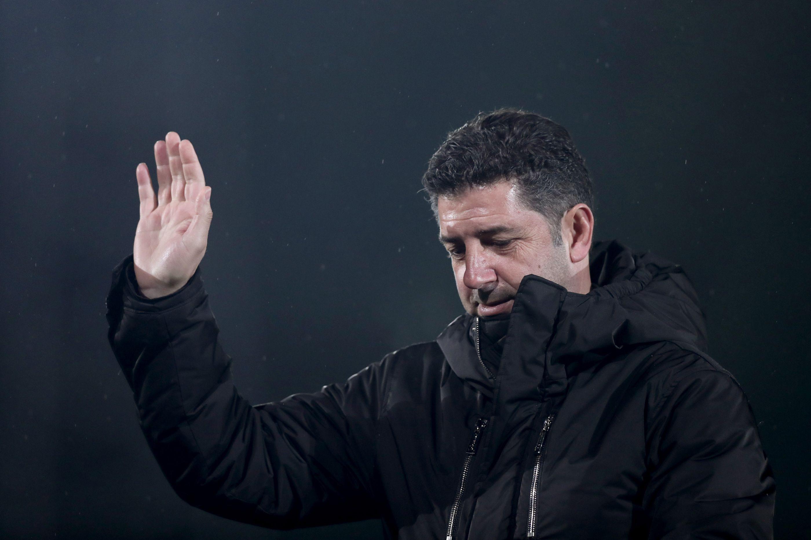 Rui Vitória abandonou o Benfica sem se despedir dos jogadores