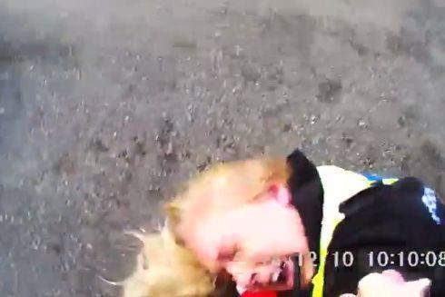 Polícia divulga vídeo de agressão a duas agentes e deixa aviso